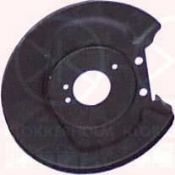 VW BEETLE 1302/1303 70- ....................... SPLASH PANE  BRAKE DISC, FRONT AXLE, DIAM